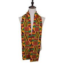 Взрослых и ребенок ожерелье школе шарф день рождения подарок Африканский шарф напечатанный шарф Африканский воротник размер 180*15 см или 70*6 дюймов b562