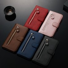 Plain Wallet Cover For Bags LG Stylo 4 5 Q8 2018 G8 ThinQ K4