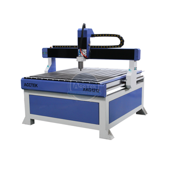 1212 4 axis cnc router machines router table 3d cnc milling machine with rotary device vacuum table 4.5kw air cooling spindle image