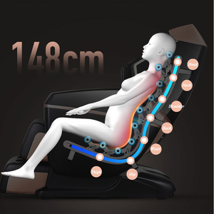 Image 2 - LEK 988J electric Super luxury 148CM SL Manipulator massage chair Full body home office multifunctional Zero Gravity chairs sofa