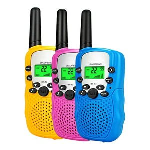 3pcs Electrical Safety Toy Talkie Walkie Enfants Two Way Radio Talky Jouets Pour Enfants Pour Children Gift Festival Toys Gifts