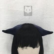 MMGG Arknights Джессика Черный кот Неко Волк уши лисы обруч для волос для аниме Лолита косплей костюм аксессуары