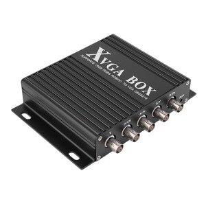 XVGA коробка MDA CGA EGA RGB Sog RGBS RGBHV YPbP YUV в VGA конвертер промышленный видео конвертер с США/ЕС/Великобритания переходник