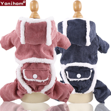 Winter Clothing for Dogs Cat Pets Clothes Warm 4 Foot Pet Dog Small Puppy Jacket Coat