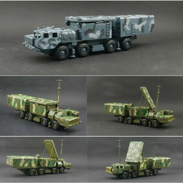 1/72 BATTLEField Russian china S-300 SA-10 air defense missile radar vehicle TombStone Radar carriage assembly Model 3