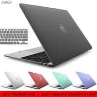 2019 haute qualité étui pour macbook Air Pro Retina 11 12 13 15 16 pour mac book 13.3 15.4 pouces nouvelle barre tactile avec couverture de clavier