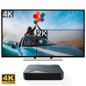 Image 2 - Android TV Box 9,0 Rockchip RK3318 2 ГБ 4 ГБ 16 ГБ 32 ГБ 64 ГБ телеприставка ТВ 2,4/5G WIFI 4K Youtube медиа проигрыватель Google Smart TV Box