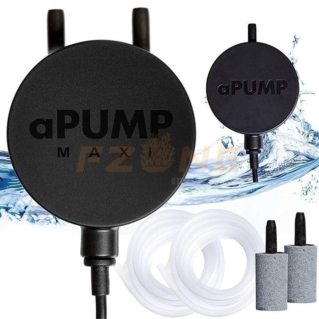 220 240V Meisten Ruhigen Stillen Original Ukraine Doppel Outlet Luftpumpe aPump Für Aquarium