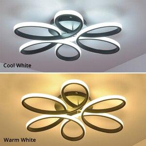 Image 4 - โมเดิร์นโคมไฟระย้าLedโคมไฟสำหรับห้องนั่งเล่นLamparasโคมไฟระย้าแสง72W 90W 120W Lampadarioโคมไฟแสง