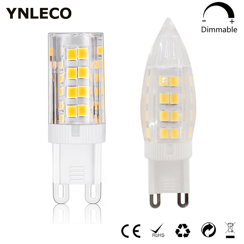 <font><b>G9</b></font> <font><b>LED</b></font> Bulb <font><b>220V</b></font> Dimmable 4W <font><b>leds</b></font> <font><b>G9</b></font> Light Lamp 51LED lampada lampara bombillas <font><b>ampoule</b></font> 360 Beam Angle Replace 30W 35W Halogen image