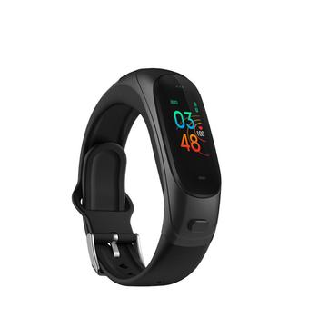 0.96Inch Smart Bracelet With Heart Rate Monitor Blood Pressure Monitor Waterproof Activity Tracker With Sleep Monitor Pedometer