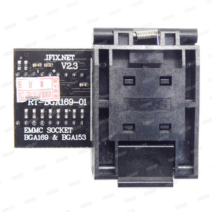 Image 4 - RT BGA169 01 V2.3 EMMC مقعد EMCP153 EMCP169 المقبس ل RT809H مبرمج 11.5*13 مللي متر إضافة أكثر 3 قطعة مصفوفة