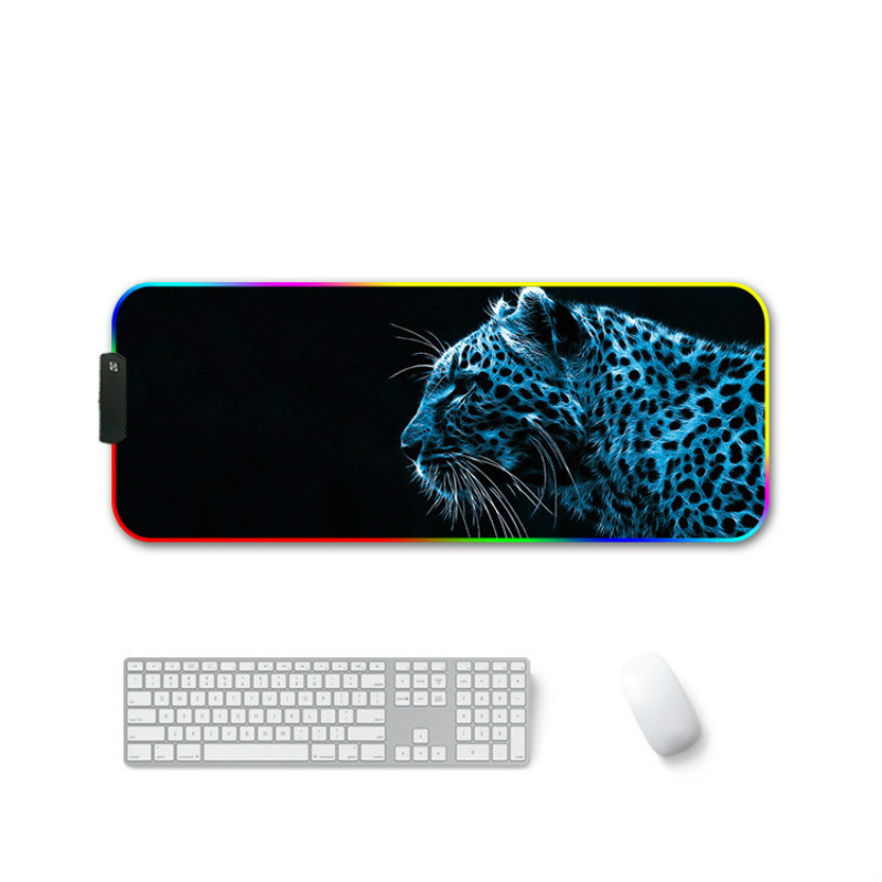 RGB Gaming Mouse Pad Large Led Computer Gamer Mousepad Big Mouse Mat xxl Carpet For keyboard Desk Mat Mause with Backlight