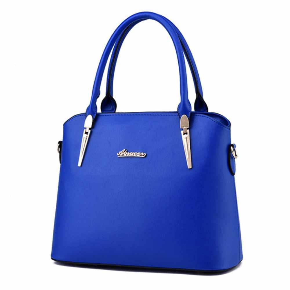 100% Hakiki deri Kadın çanta 2019 Yeni Üç parçalı moda Crossbody omuz çantası kadın postacı çantası