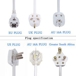 Image 5 - Extension Lead Power Strip AU CN EU US UK Plug Universal Socket Outlets Switch Power Board 1.5m Extension Cord 3500W 16A