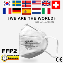 10PCS FFP2 Mouth Mask 5 Layers CE Certification Anti Germ Anti Infection KN95 Face Mask Protective Masks Same as KF94 N95