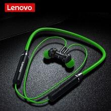 Lenovo HE06 Bluetooth 5 105mAh Wireless Headset Hals Hängen Laufsport In ohr 120H Lange Standby Kopfhörer für iOS Android