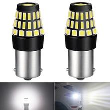2pcs 1156 Canbus P21W BA15S LED Bulb For Skoda Octavia 2 MK2 FL 1Z A5 2009 2010 2011 2012 2013 Car DRL Reverse Light White DC12V