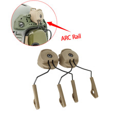 ARC Rail Adapter for Howard Leight Impact Sports Electronic Shooting Earmuffs Tactical Headset Noise Reduction Tactical Earmuffs
