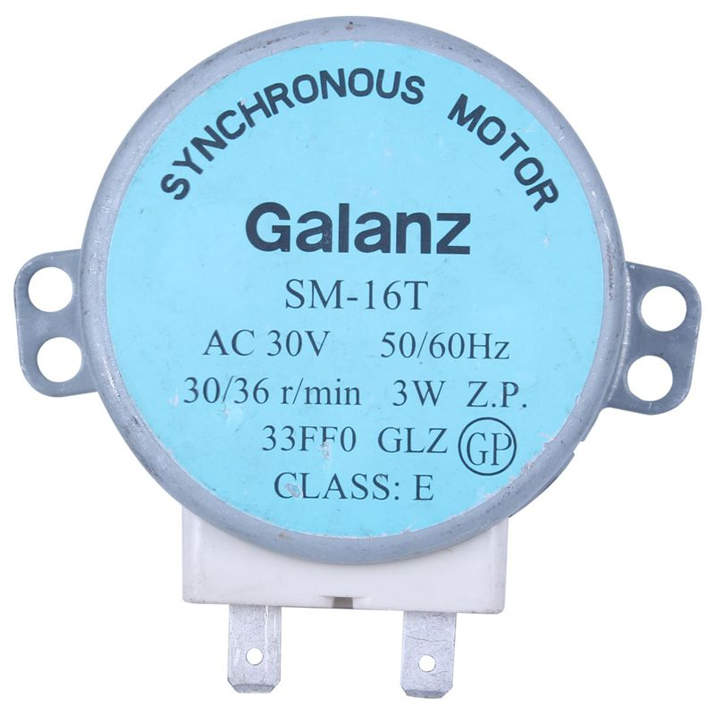 Sm-16t Ac 30v 3.5 / 4w 30/36 R/min Synchronous Motor For Galanz Microwave Oven