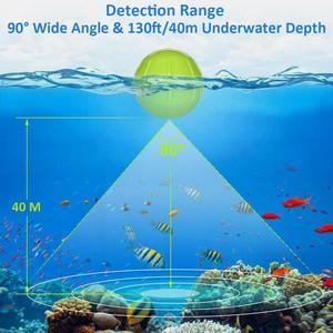 Image 5 - Eyoyo אלחוטי דיג גשוש נייד הד סאונדרס עבור דיג חכם Bluetooth סונאר דגי finder עמוק יותר sondeur פש