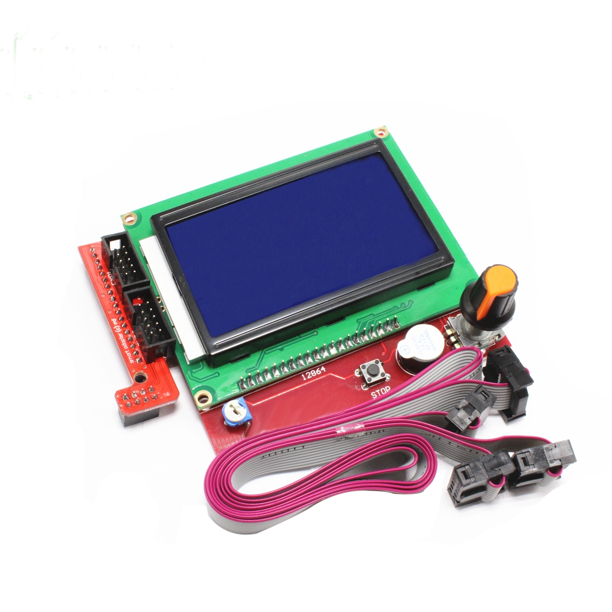 12864 LCD Display  3D Printer Smart Controller RAMPS 1.4 LCD 12864 LCD Control Display Panel Blue Screen For Arduino LCD Display