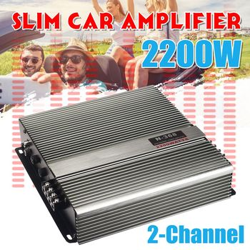 2000 Watt Car Audio Power Amplifier 2 Channel 12V Car Amplifer Car Audio Amplifier for Cars Amplifier Subwoofer