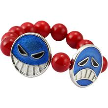 Julie One Piece Ace Red Beads One Direction Bracelets For Women Men Jewelry 2021 New