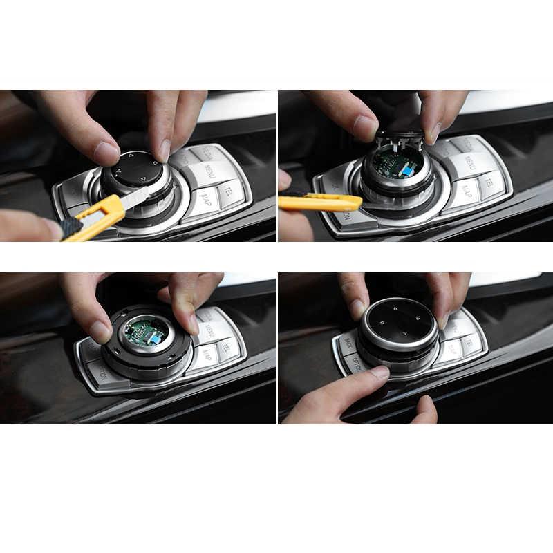 Cho Xe BMW X1 X3 X4 X5 X6 F30 E90 E92 F10 F18 F11 F07 GT E70 E71 E72 E84 F20 f25 F26 Gốc Đa Phương Tiện Nút Bịt Miếng Dán
