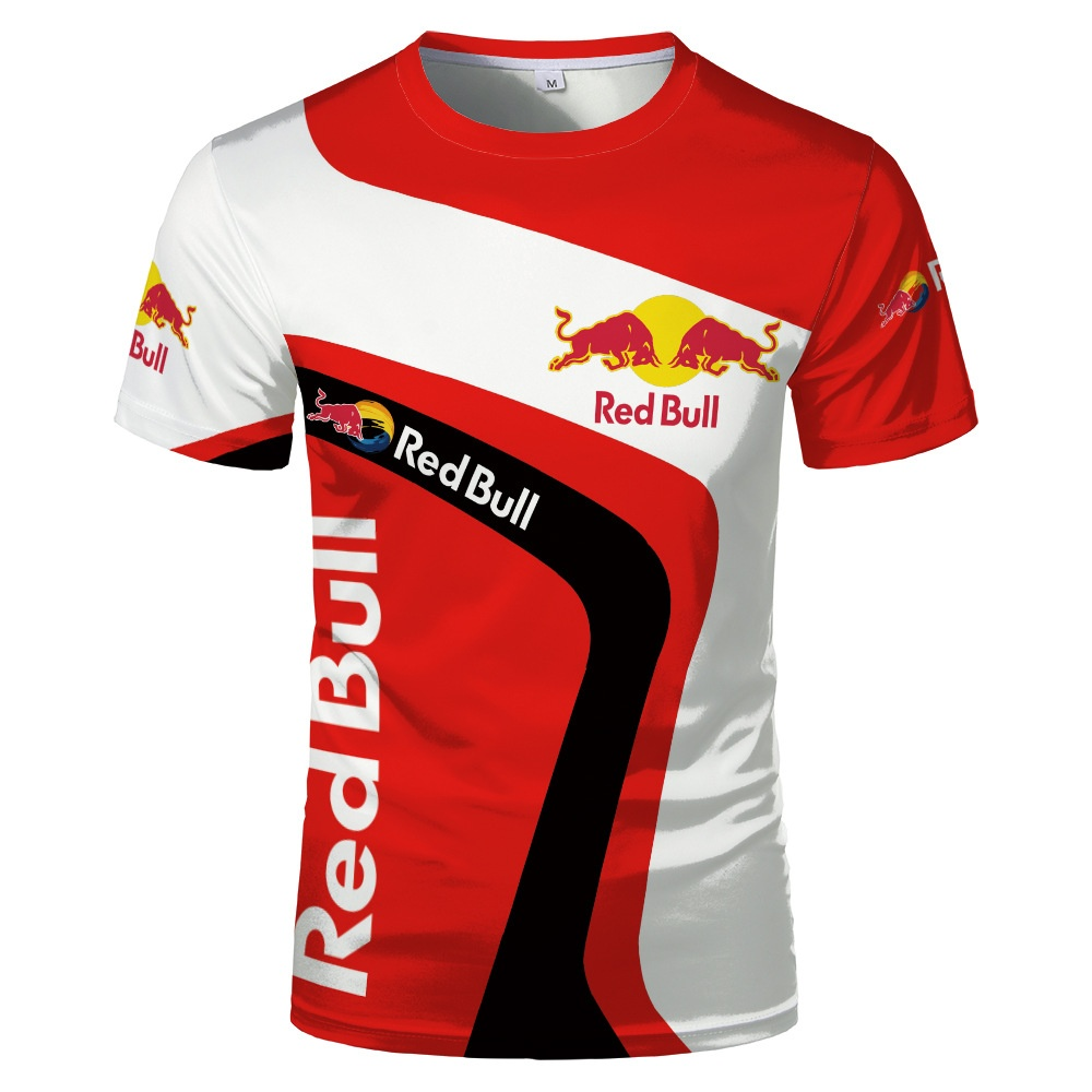 New Hot Men's T-shirt Trend 3d Digital Printing Short Sleeve Extreme Sports T-shirt Casual Top Sports Short Sleeve