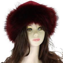 Studyset шляпа холодная погода акриловая шляпа замша монгольская шапка Круглый топ утолщенный пушистый завернутый пуловер Кепка Термосумка