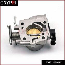 ZM01-13-640 198500-1031 ZM01-20-660 Van Tiết Lưu Cơ Thể Assy 99-05 Mazda MIATA Protege 1.8L 1.6L ZM015580 BP2Y18911A ZM0120660
