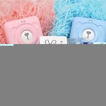 3 Rollers/Bag Colored Thermal Label Paper Random Colors Printer Coated Top Portable Pocket 30mm Pape Diameter 57mm Thermal T4B1