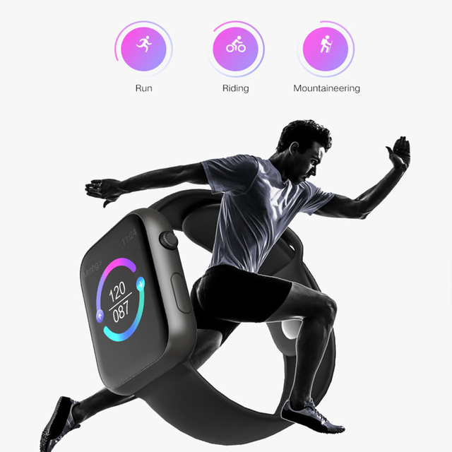 Torntisc Smart Watch Men Heart Rate Fitness Monitor Blood Pressure Oxygen IP67 SmartWatch Women For Apple Android Phone