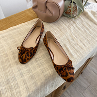 Quality Suede Leather Round Toe Women Pumps Sweet Shallow 2020 Spring Dancing Casual Shoes Woman Flat Heels Black Blue Red Gold