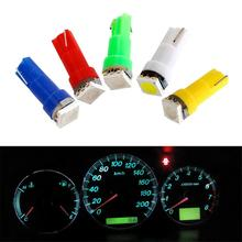 10Pcs 12V T5  5050 SMD LED Car Board Instrument Panel Lamp Auto Dashboard Warming Indicator Wedge Light Speed Dash Bulb