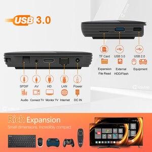 Image 5 - 2020 VONTAR X3 TV kutusu Android 9 4GB 128GB 8K Amlogic S905X3 çift Wifi 1080P 4K Youtube Android 9.0 Set üstü kutu 4GB 64GB 32GB