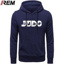 REM Judo Martial Arts Judo ของขวัญ Judo สำหรับชายกราฟิก Crewneck พิมพ์ Hoodies, Sweatshirts