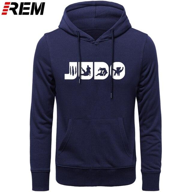 Sweat shirt, col ras du cou graphique, en coton imprimé, vêtement de Judo REM, Arts martiaux, cadeau pour hommes