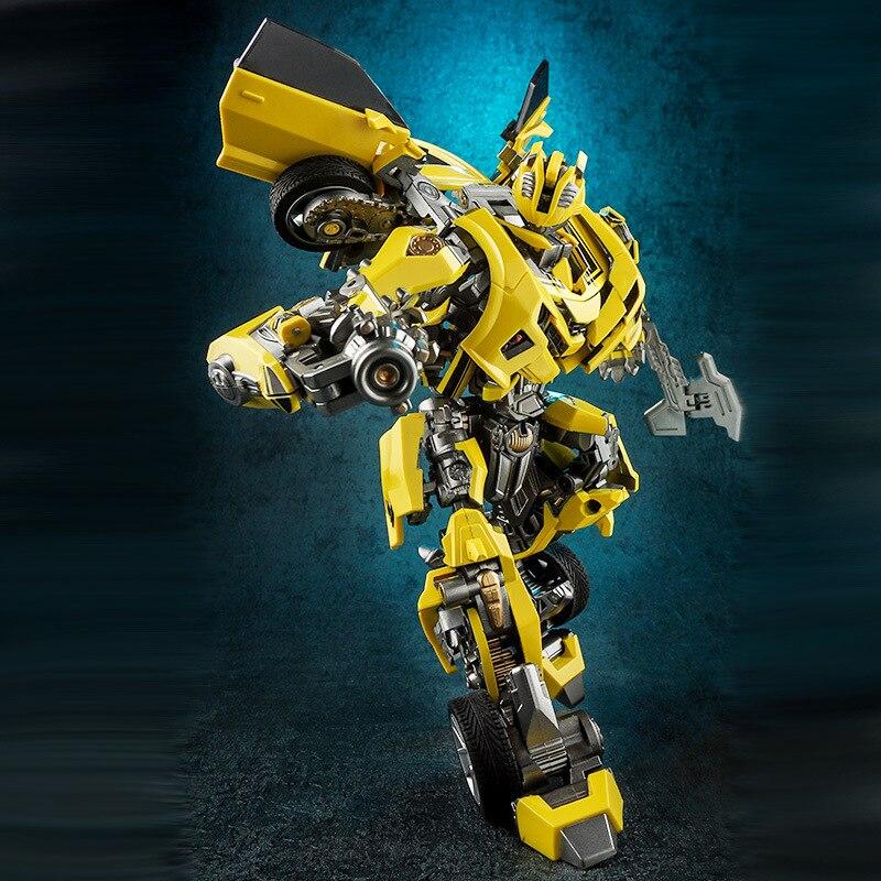Wei Jiang War Blade Bumblebee Transformation Toy Jingang Alloy Version Of 8053 Film Version Car Robot Garage Kit Model