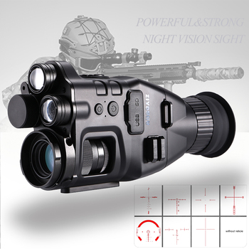 Multi-Functional 850nm+940nm Double Infrared Digital Night Vision Aim Sight Camera 24X Zoom Hunting Riflescope for Day & Night 1