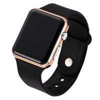 Reloj deportivo de moda LED de lujo para hombre, reloj deportivo Digital Militar resistente al agua para mujer, reloj Militar reloj femenino