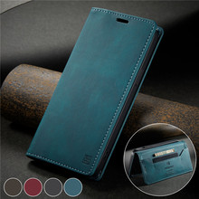 Magnetic Flip Case For Samsung Galaxy S20 Ultra Case Leather Galaxy S20 Plus Cover Stand Card Slot Wallet PU Phone Bags