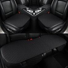 5 koltuk araba klozet kapağı koruyucu keten ön arka arka arka koltuk minderi ped oto otomotiv iç kamyon Suv veya Van