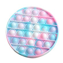 Brinquedos de fidget anti stress push pop it bolha sensorial arco-íris fidget toyrestore emoções estresse brinquedo para ansiedade ocd