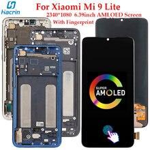ЖК дисплей amoled для xiaomi mi 9 lite сенсорный экран с дигитайзером