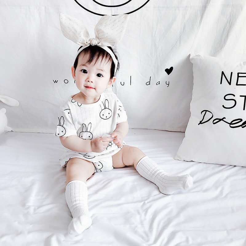 2020 Summer New Baby Cute Animal Suit Male And Female Baby Breathable Short Sleeve Two-piece Suit