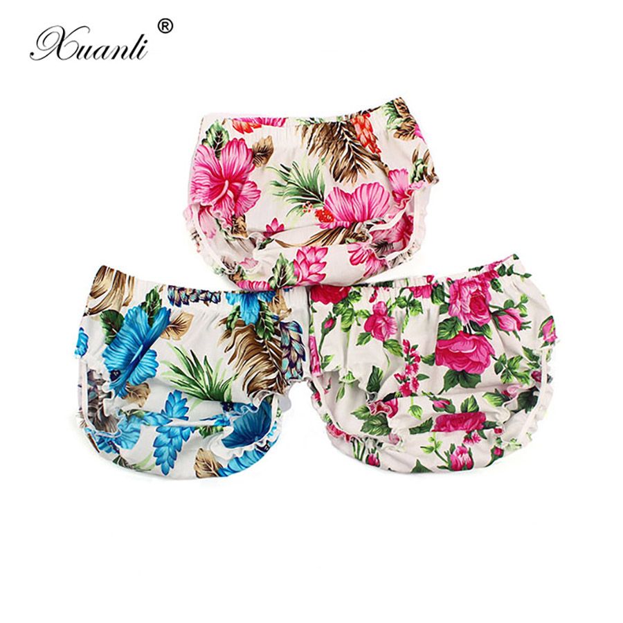 Newborn Baby  Bloomer Shorts Boy Shorte Cotton Baby Panties PP Pants  Baby Girl Diaper Cover 0-24 Months