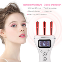 Meridian Magnetic Therapy Vibration Machine Lymphatic Drainage Scrapping Pain Relief Wrinkle Remove Body Facial Shaping Slimming