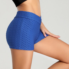 VERTVIE High Waist Sport Gym Shorts Women Quick Dry Workout Shorts Breathable Scrunch Running Training Tight Elastic Yoga Shorts